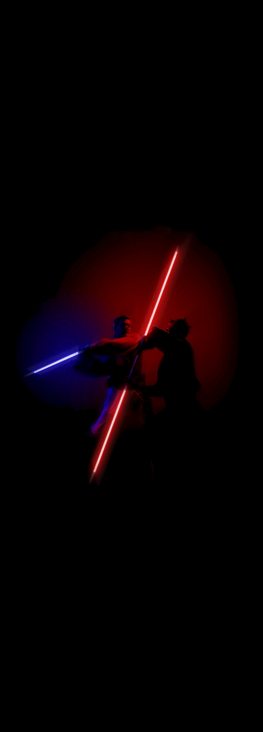 Obi Wan vs Darth Maul Phone Wallpaper PrequelMemes