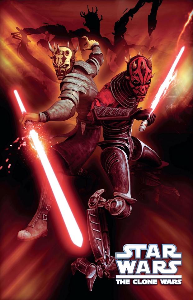 Darth Maul and Savage Oppress The Clone Wars wallpaper