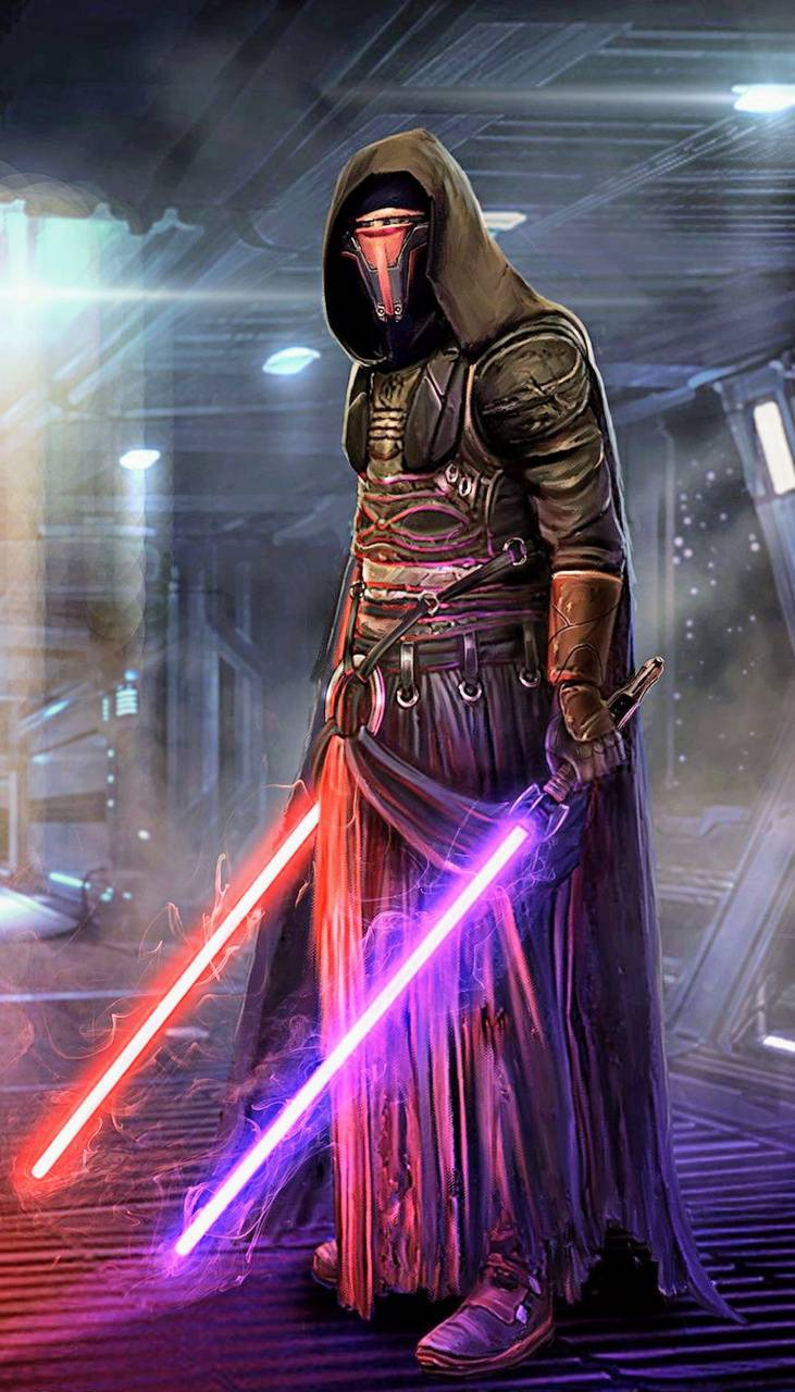 Wallpaper Star Wars Darth Revan lightsaber 1920x1080