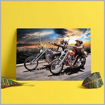 Ghost Rider David Mann Motorcycle Art Silk Poster Wallpaper 42x63cm 60x90cm