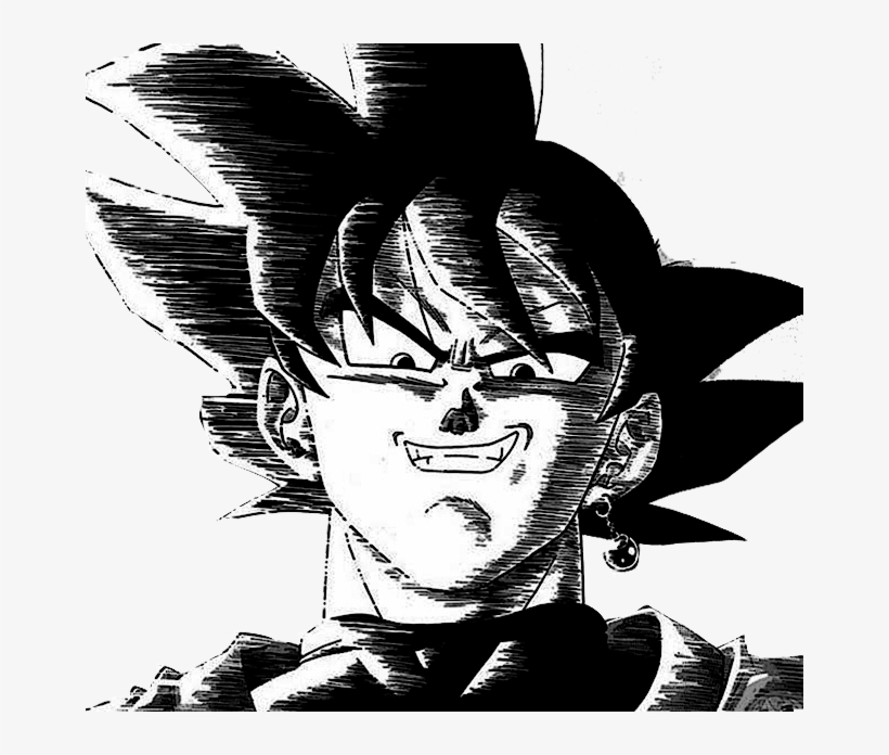 Dbz Black And White Pictures Posted By Ryan Anderson