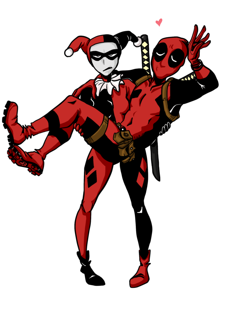 Deadpool And Harley Quinn Wallpaper Posted By Sarah Peltier