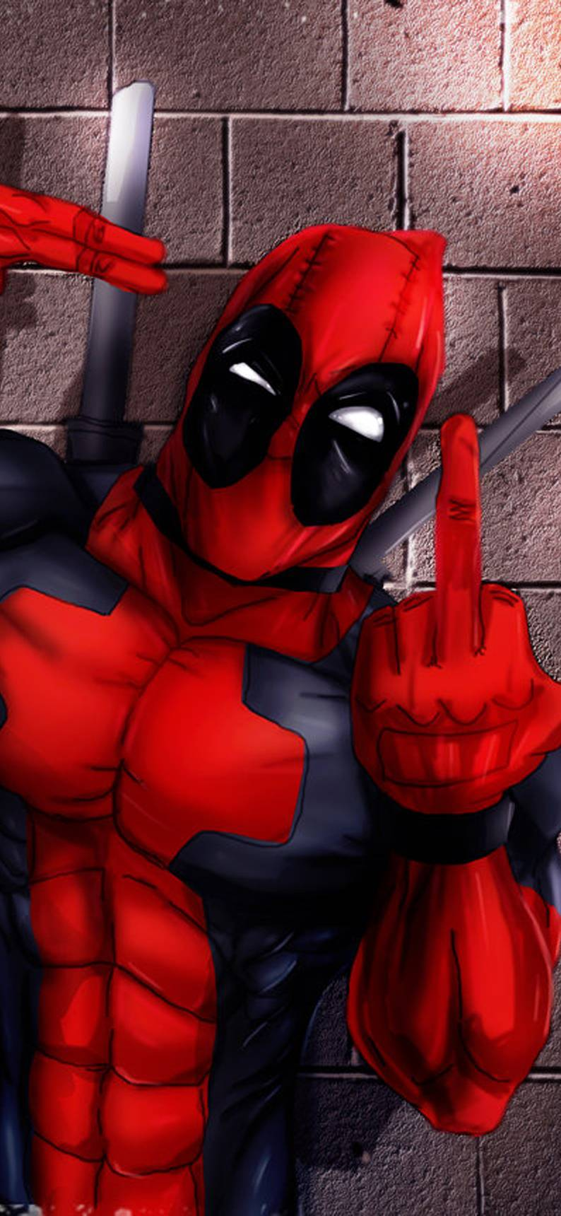 Deadpool Animated Wallpaper posted by ...