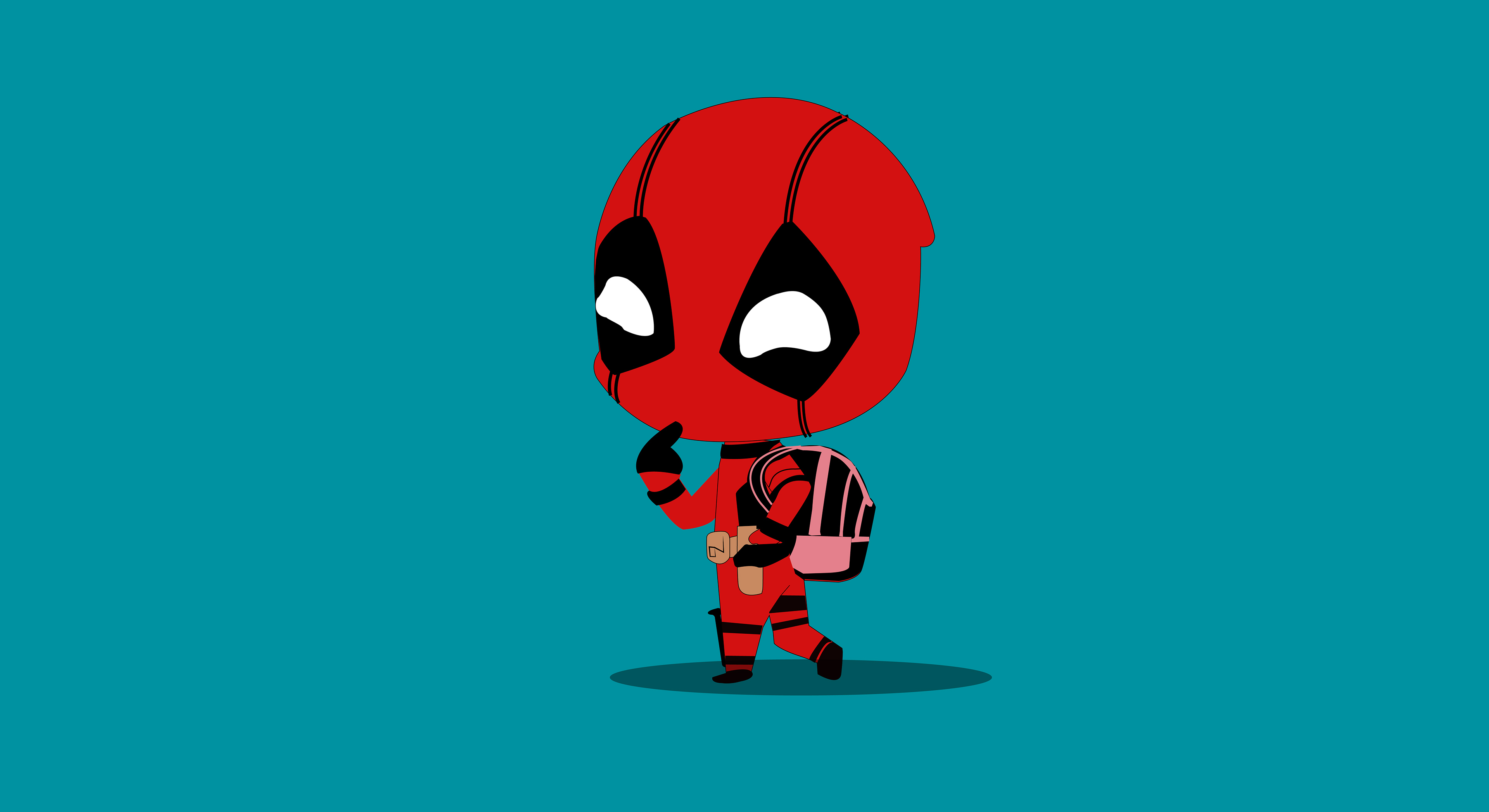 Deadpool Cartoon Wallpapers Posted By Ethan Johnson