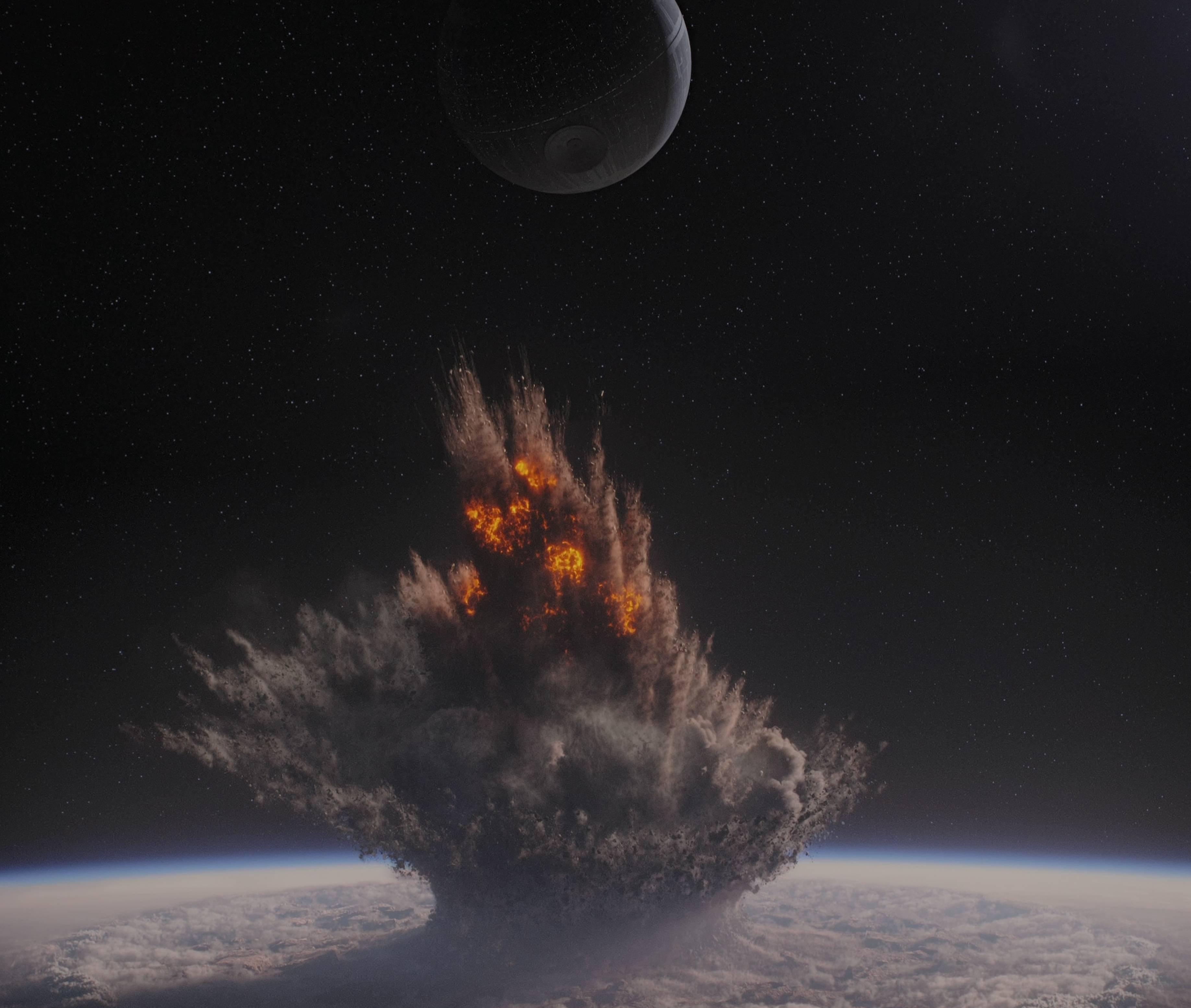 Wallpaper Star Wars planet vehicle Earth space art