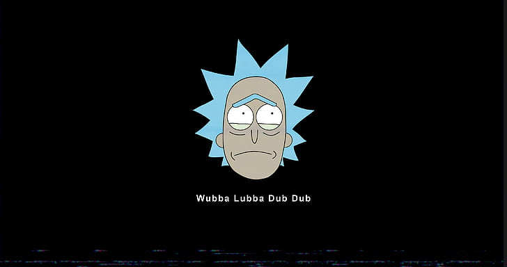 HD wallpaper Rick and Morty sad wubalubadubdub Rick