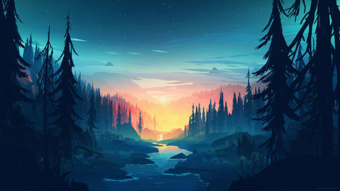 Aesthetic wallpaper examples for your desktop background