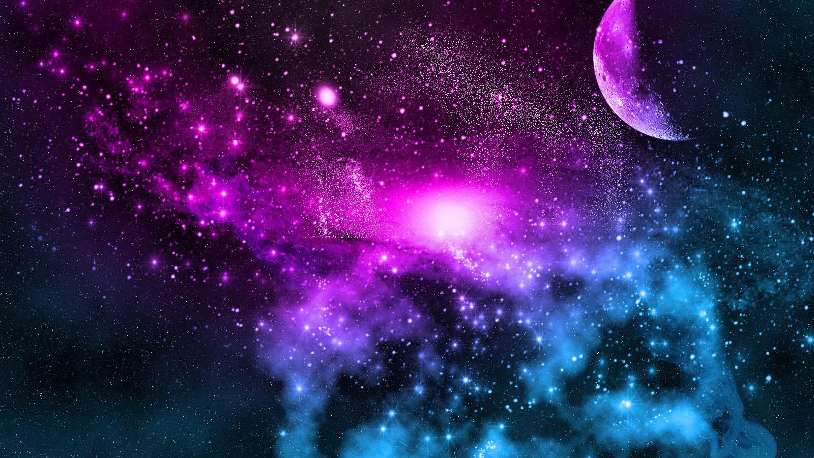Galaxy Desktop Wallpaper 36841 Baltana