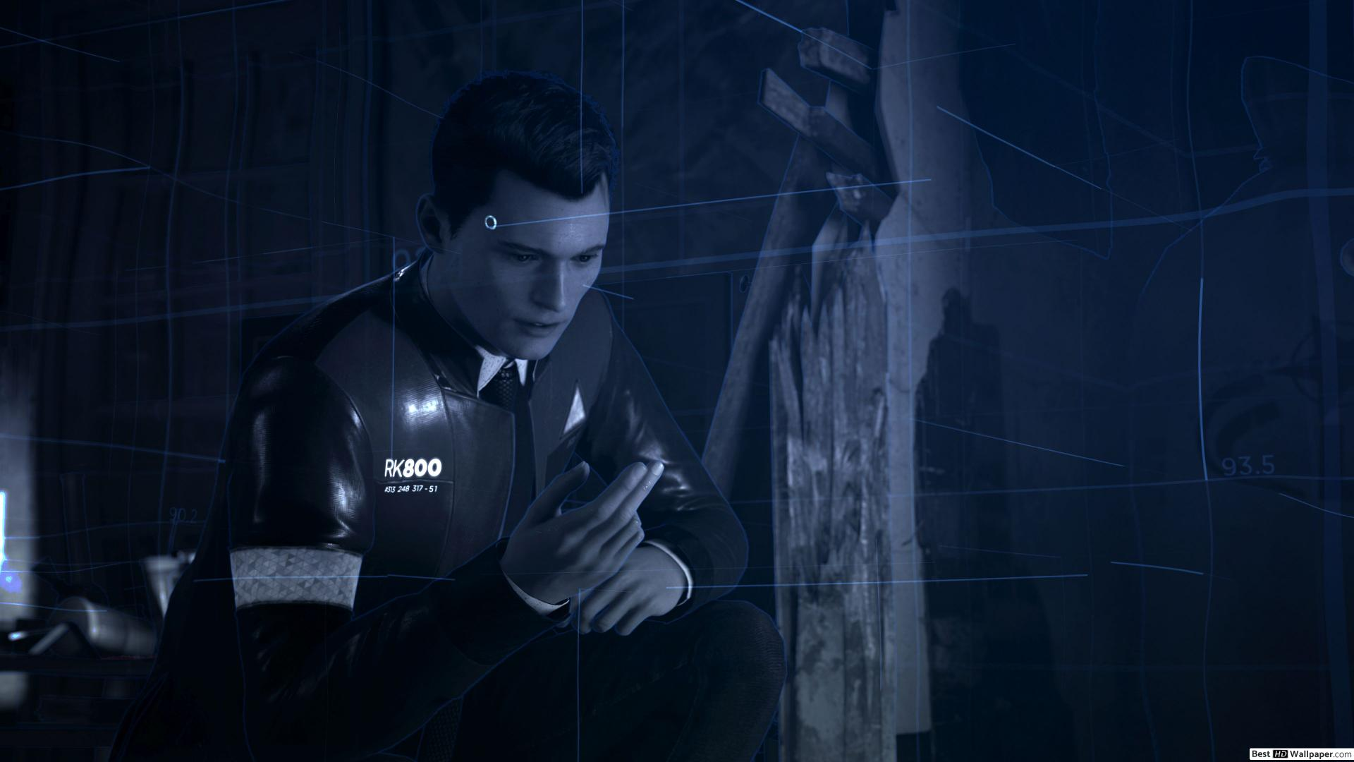 Detroit Become Human Wallpaper 1920x1080 Posted By John Cunningham