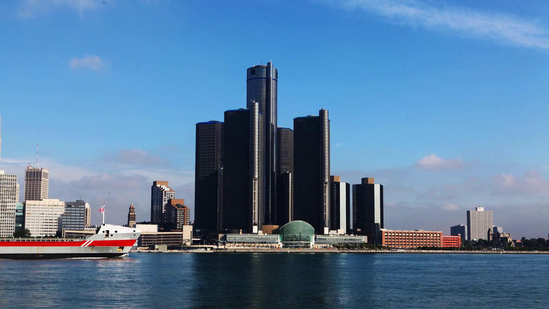 Detroit Skyline Wallpaper Posted By Michelle Peltier