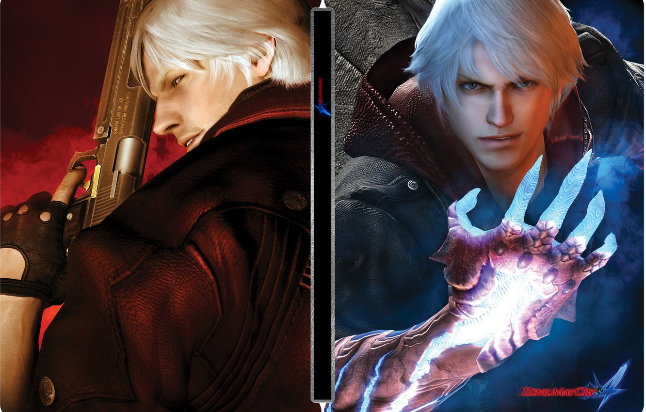 Devil May Cry 4 Wallpaper Nero And Dante Posted By Sarah Anderson