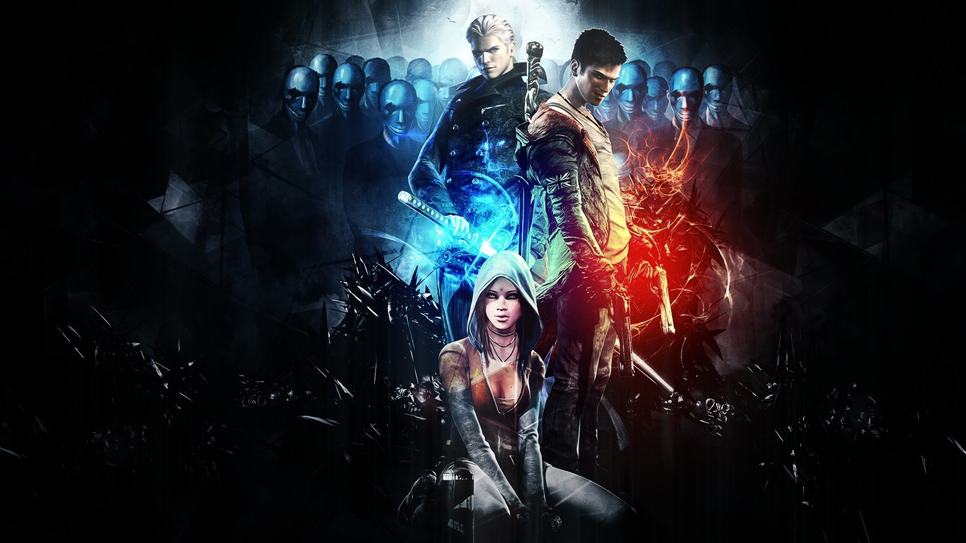 Devil May Cry 5 Wallpaper 4k Posted By Zoey Sellers