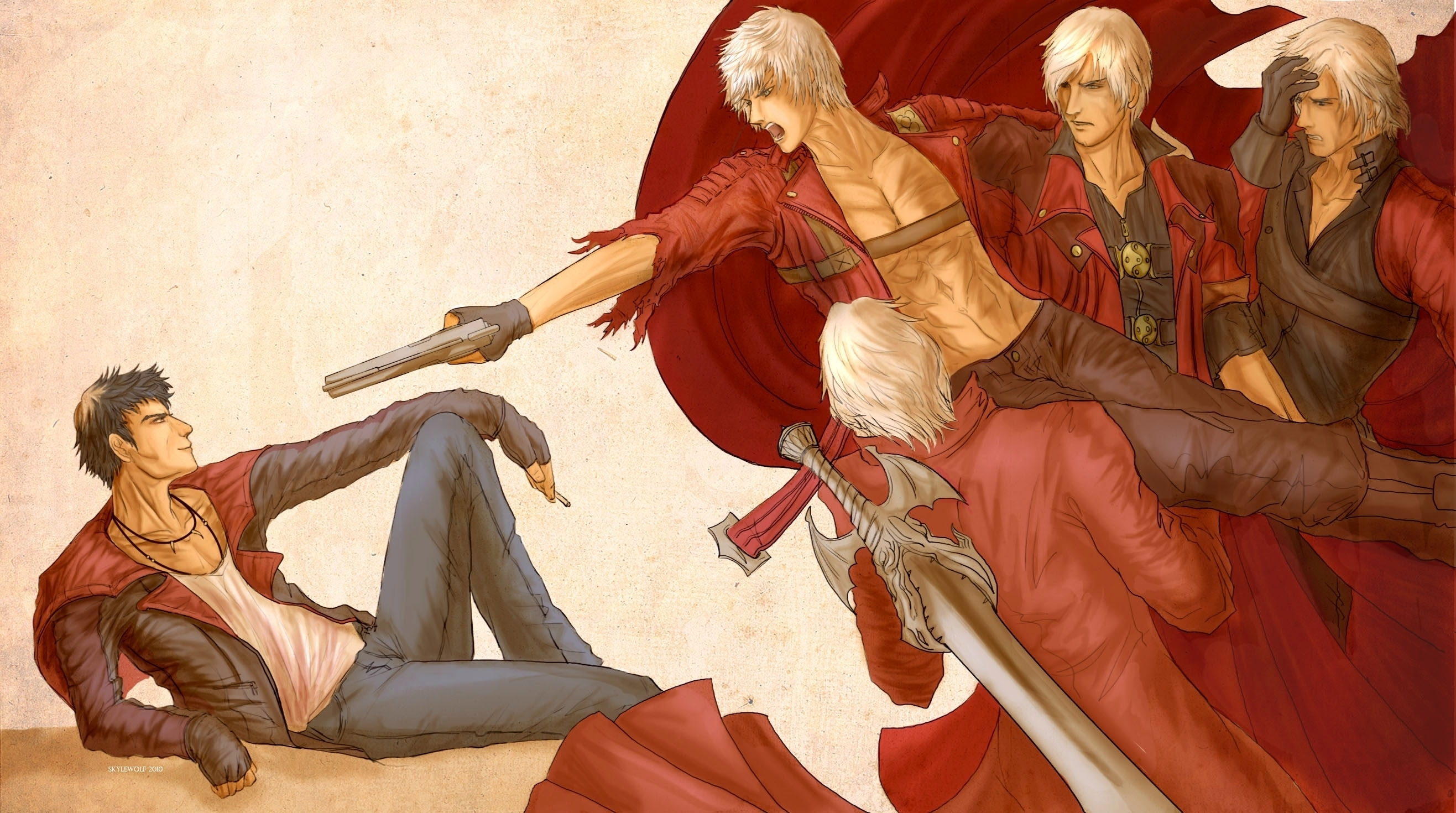 Devil May Cry Hd Wallpaper Posted By Christopher Thompson