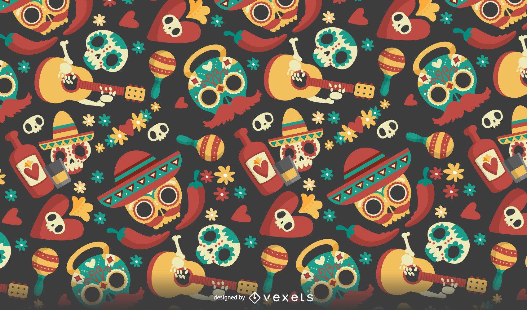 Dia De Los Muertos Desktop Wallpaper Posted By John Johnson