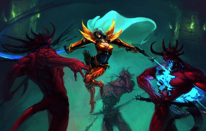 Diablo 3 Demon Hunter Wallpaper 1920x1080