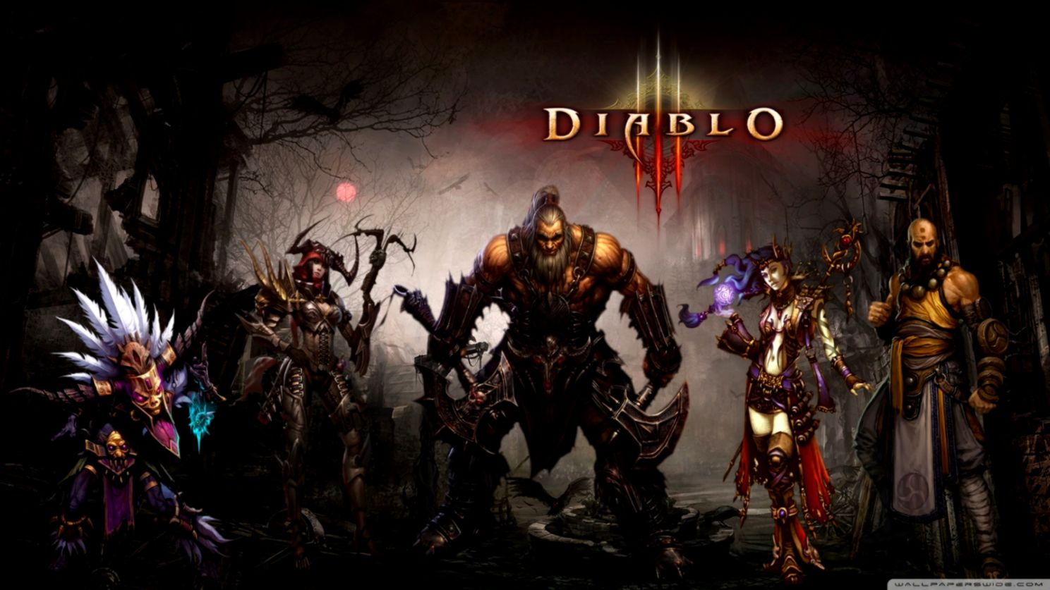 Diablo 3 Wallpaper 1920x1080 Hd Posted By Christopher Simpson