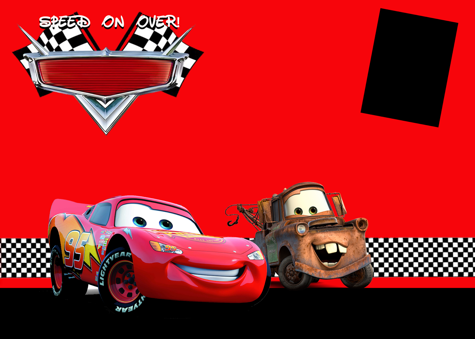 Birthday Cars Disney Background