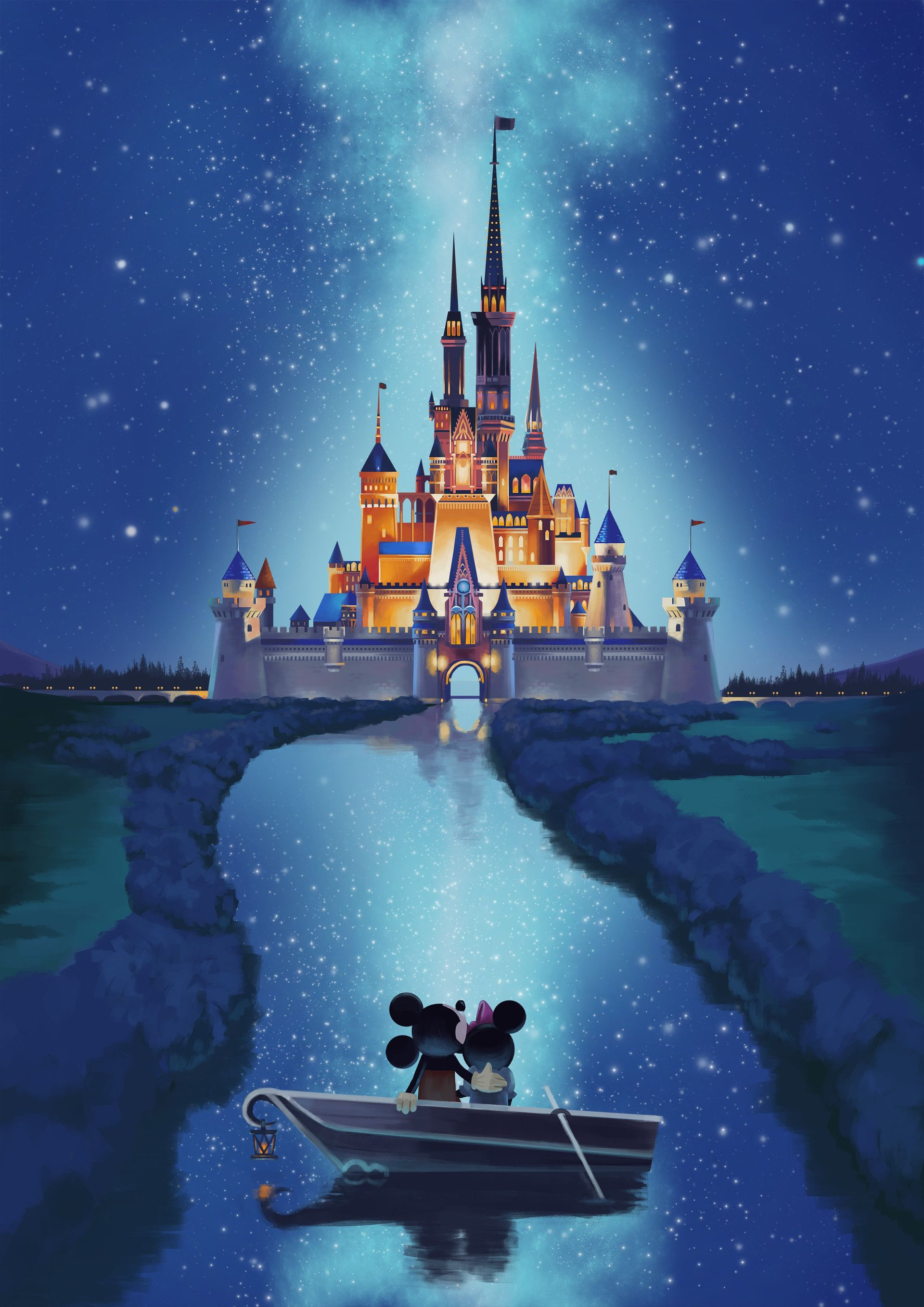 Disney Castle Iphone Wallpaper Posted By Zoey Sellers