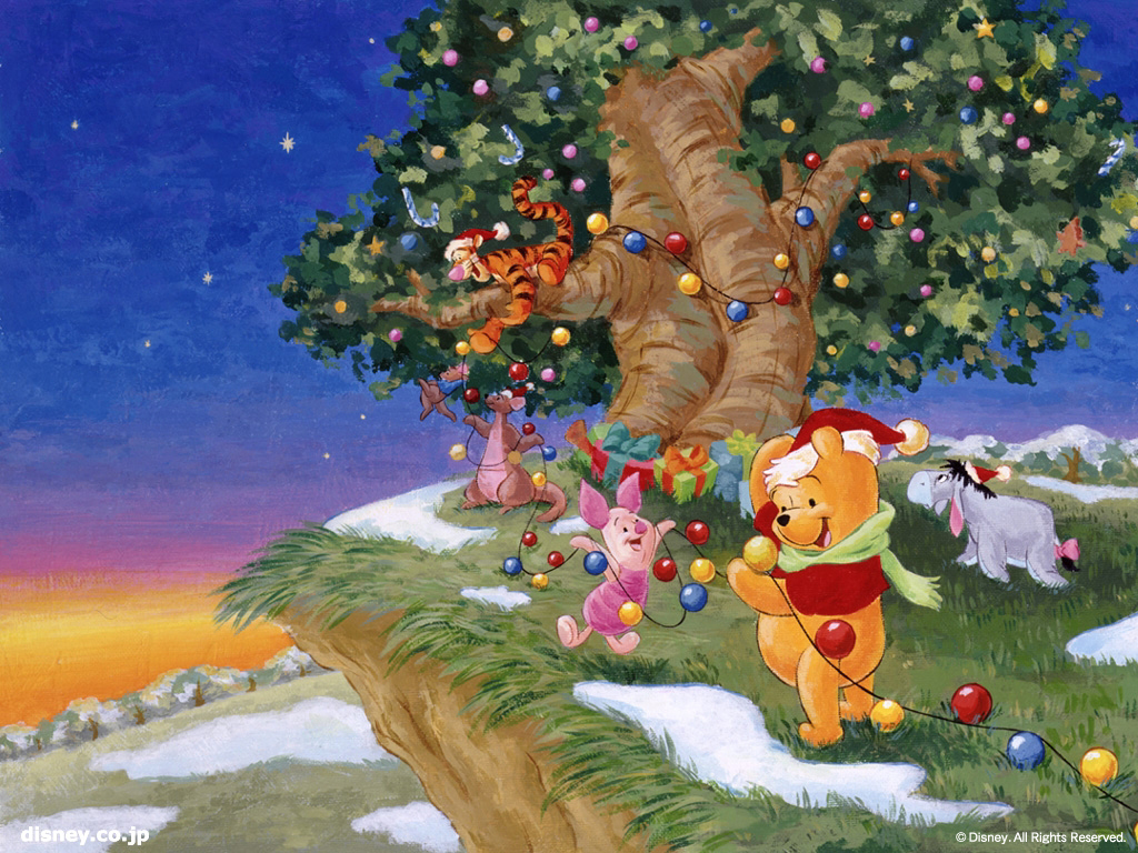 Disney Christmas Hd Wallpapers Wallpapers Style