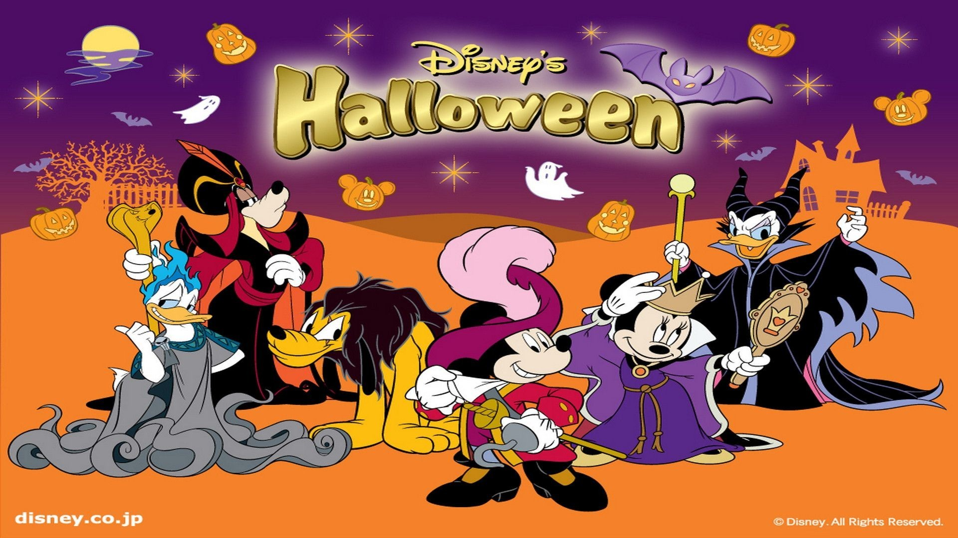 Desktop Wallpaper Disney Halloween Siboneycubancuisine.com