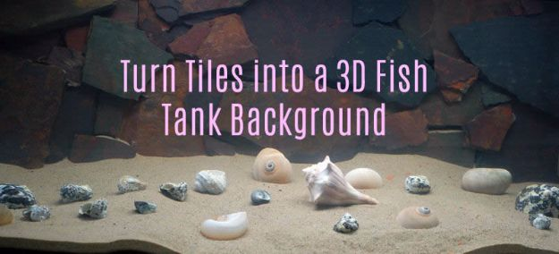Diy 3d Aquarium Background Posted By Zoey Thompson