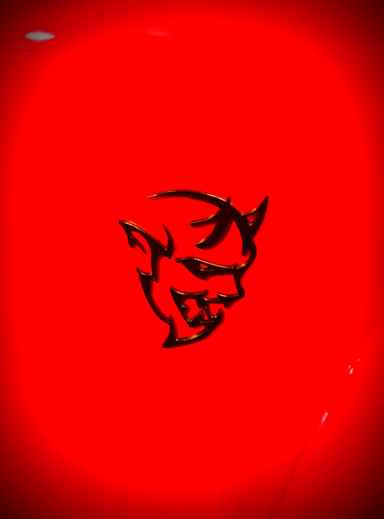 Dodge Demon Logo Wallpaper Posted By John Thompson