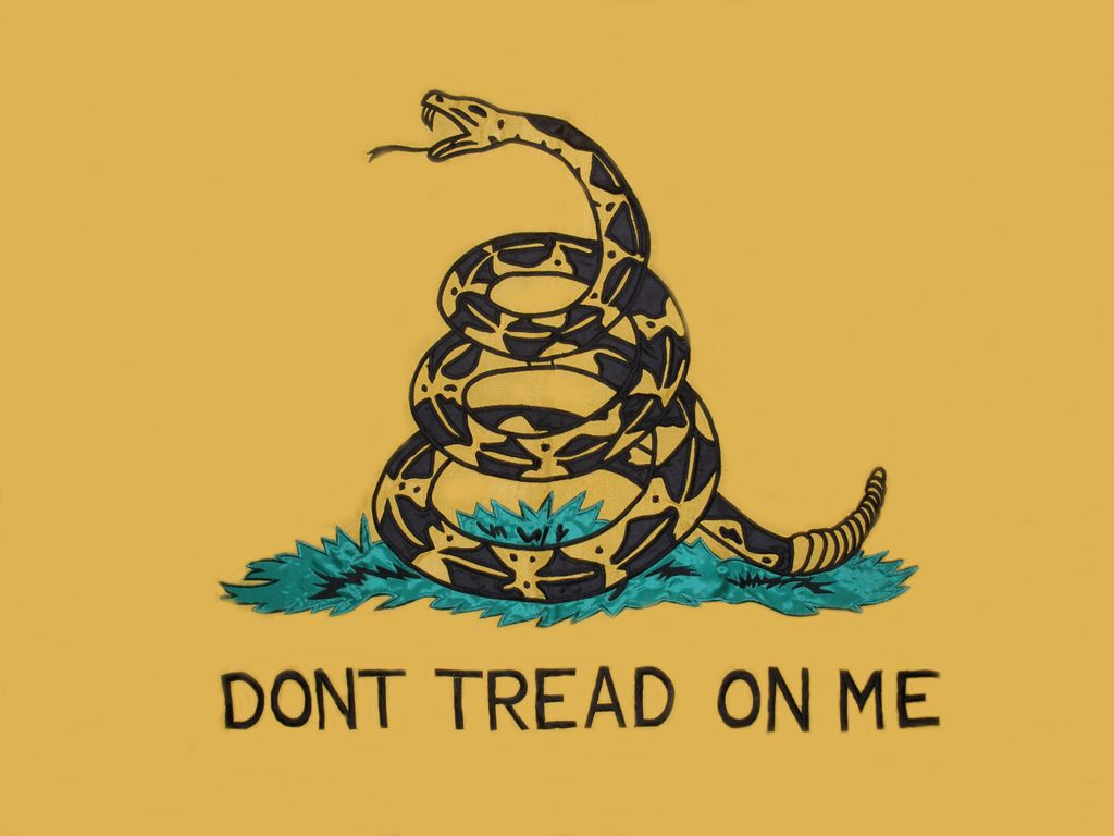 Don T Tread On Me Iphone Wallpaper Posted By Christopher Anderson