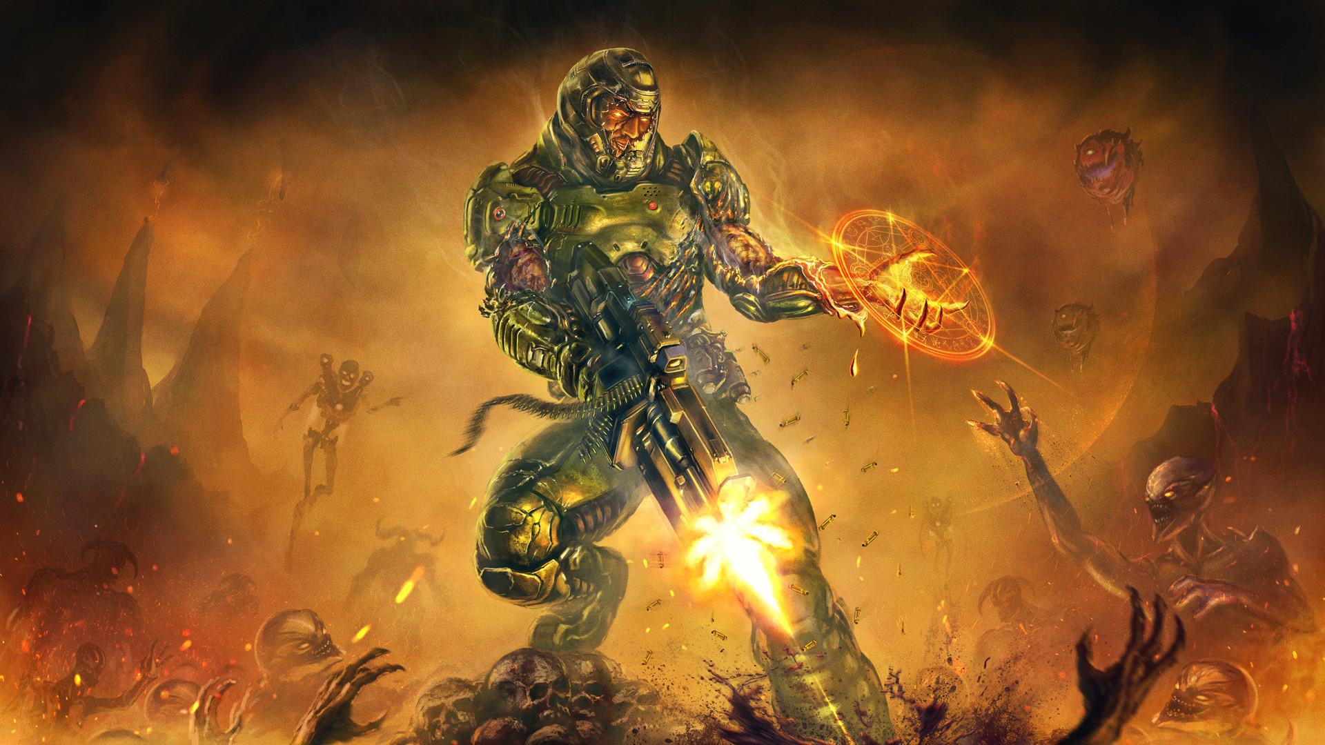 Doom Eternal 4k Wallpapers Posted By Ryan Mercado