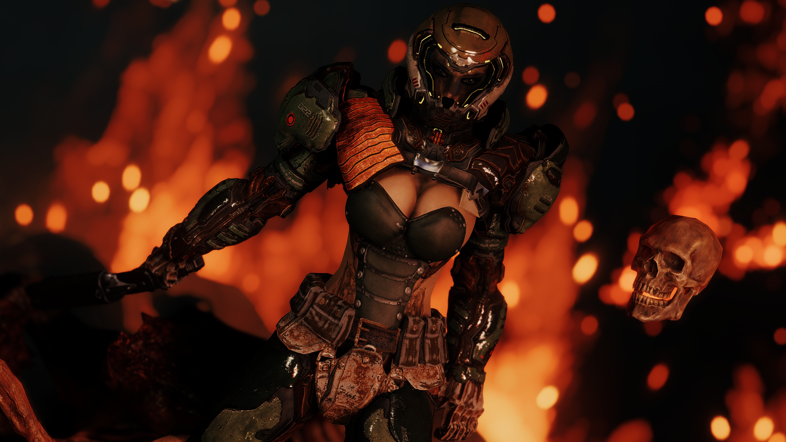 Doom Guy Wallpaper Posted By Samantha Mercado