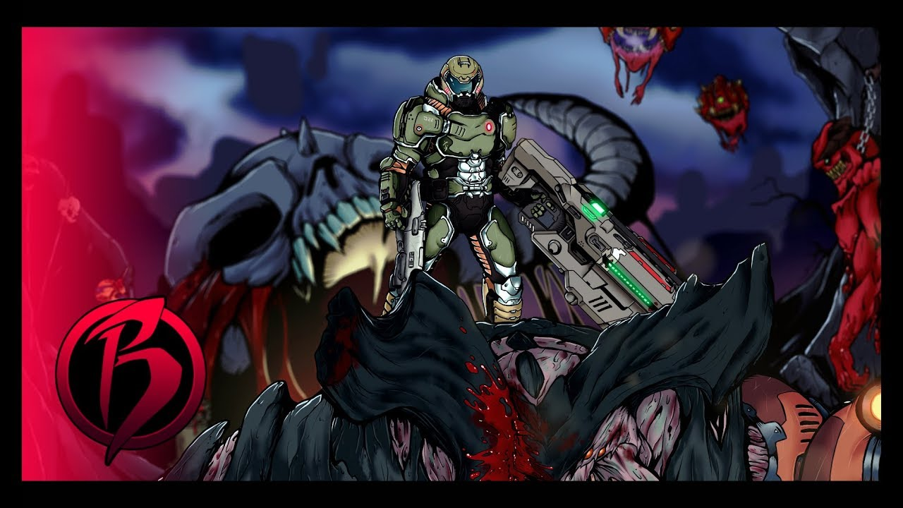 Doom Slayer Wallpaper posted by Samantha Simpson