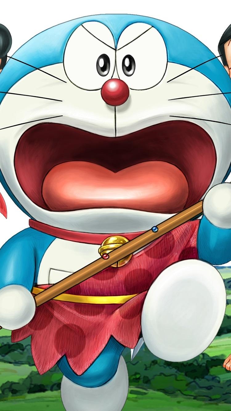 Doraemon primitive 750x1334 iPhone 8766S wallpaper
