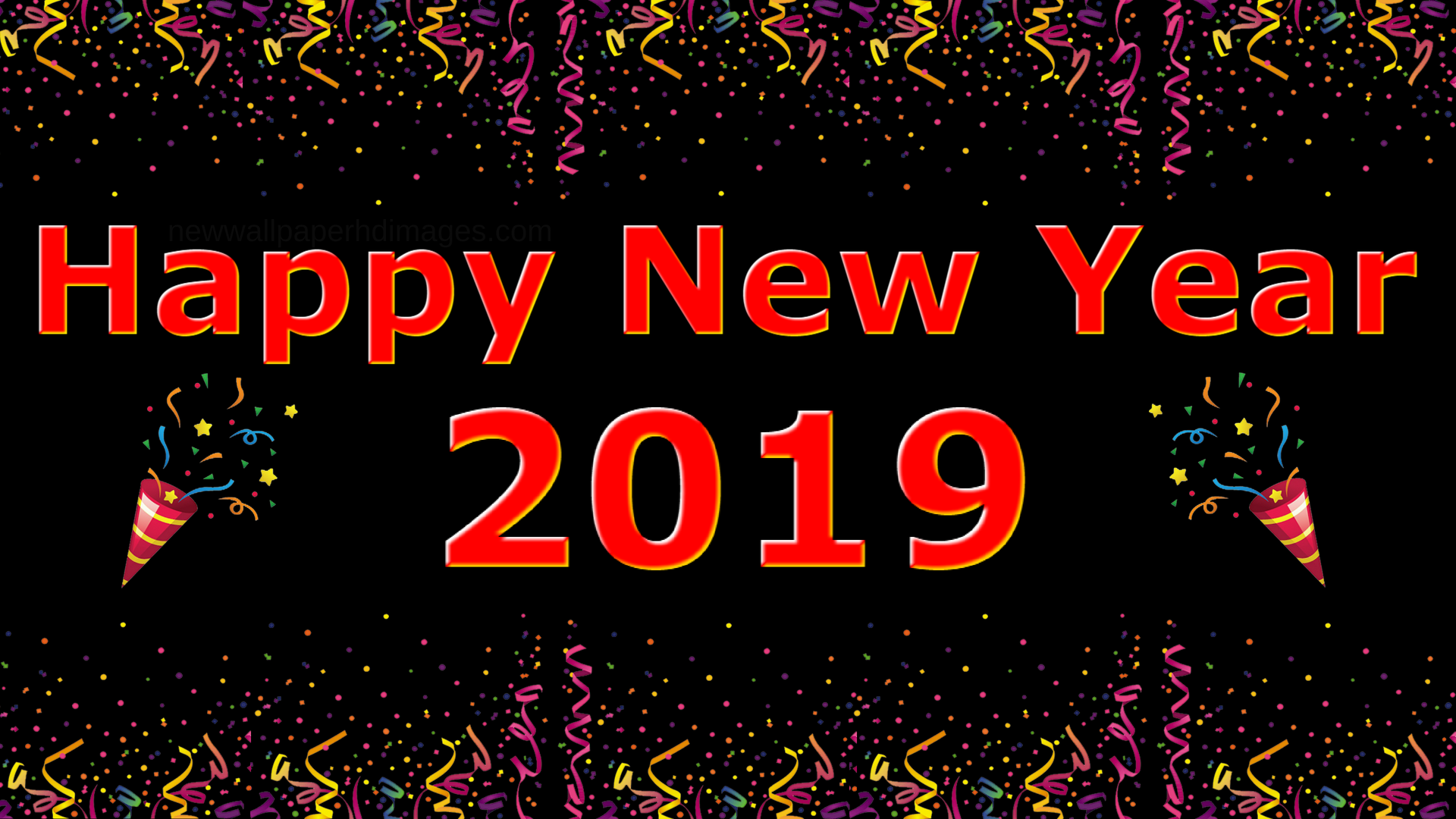 20+ Happy New Year 2019 Images Hd Download PNG