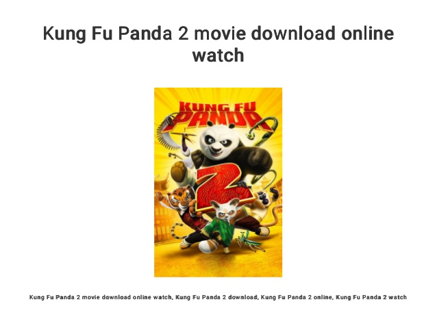 Download Kong Fu Panda Posted By Zoey Simpson