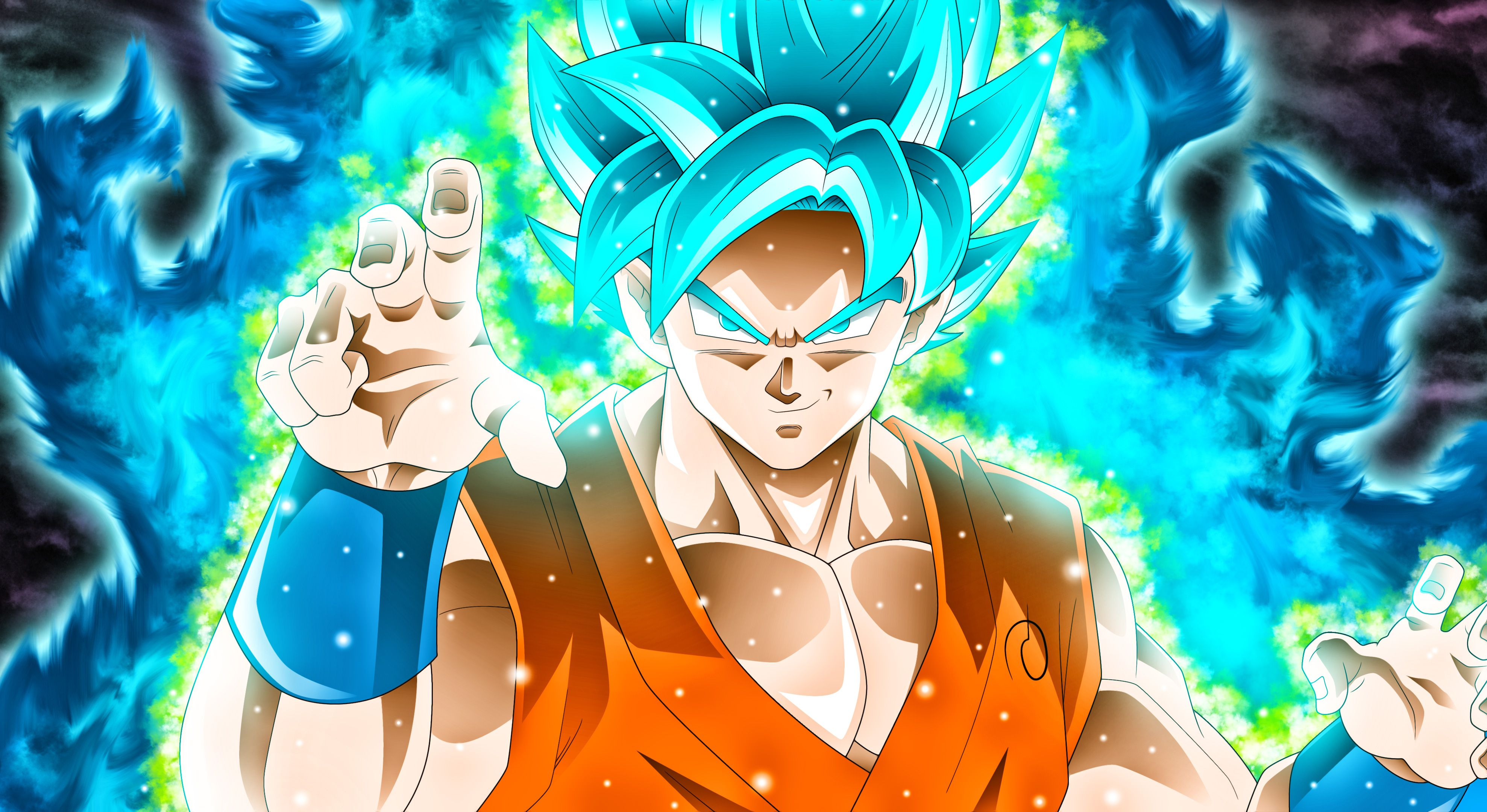 Dragon Ball Super 3d Wallpaper