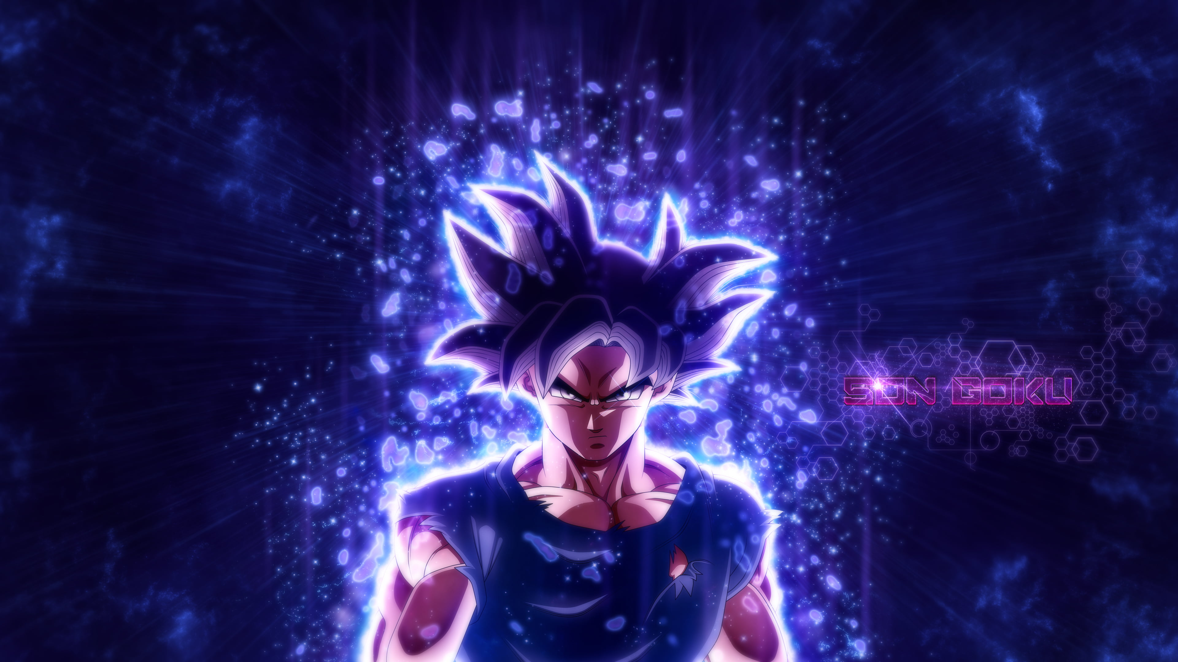 Dragon Ball Super Goku Ultra Instinct Wallpaper Posted By Zoey Johnson