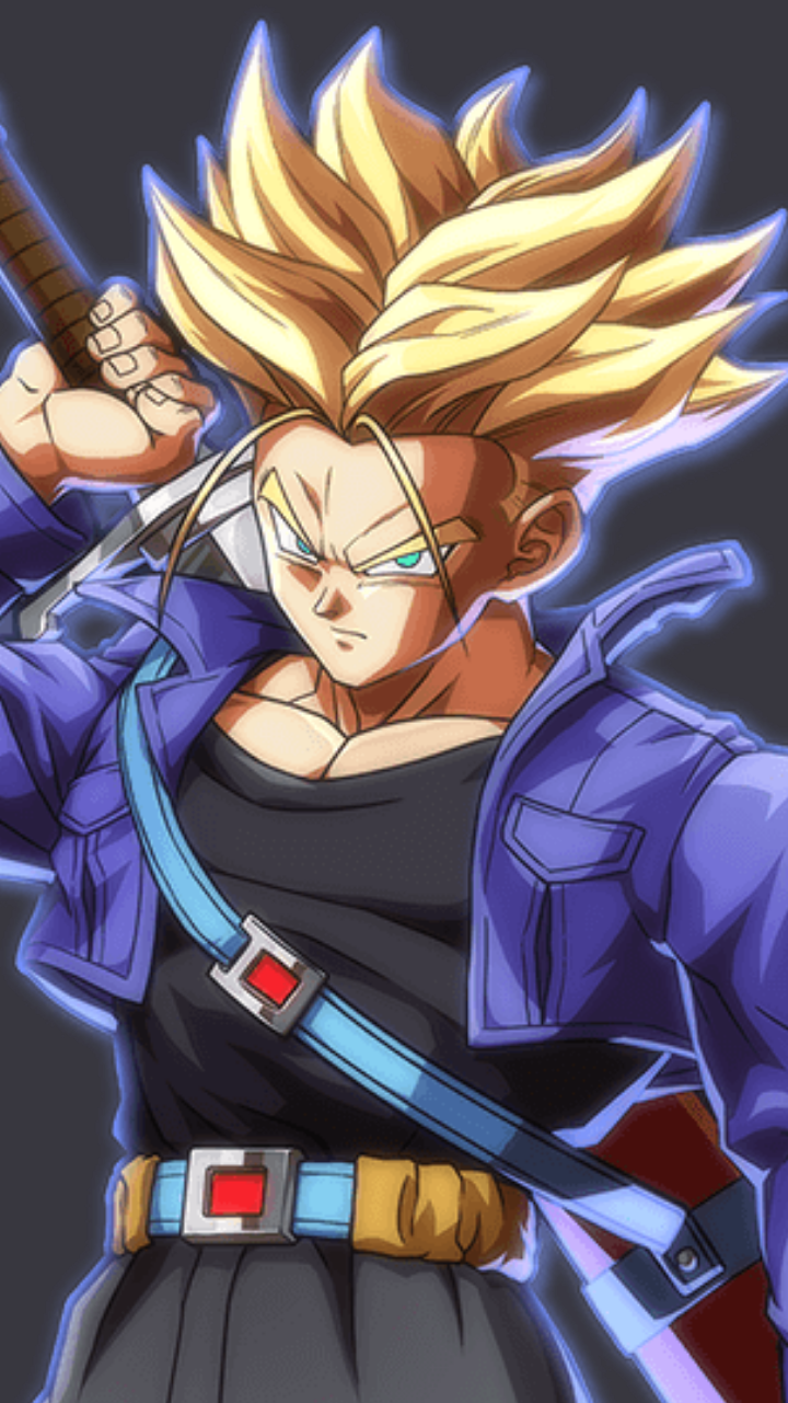 Dragon Ball Super Trunks Wallpaper Posted By Ryan Walker