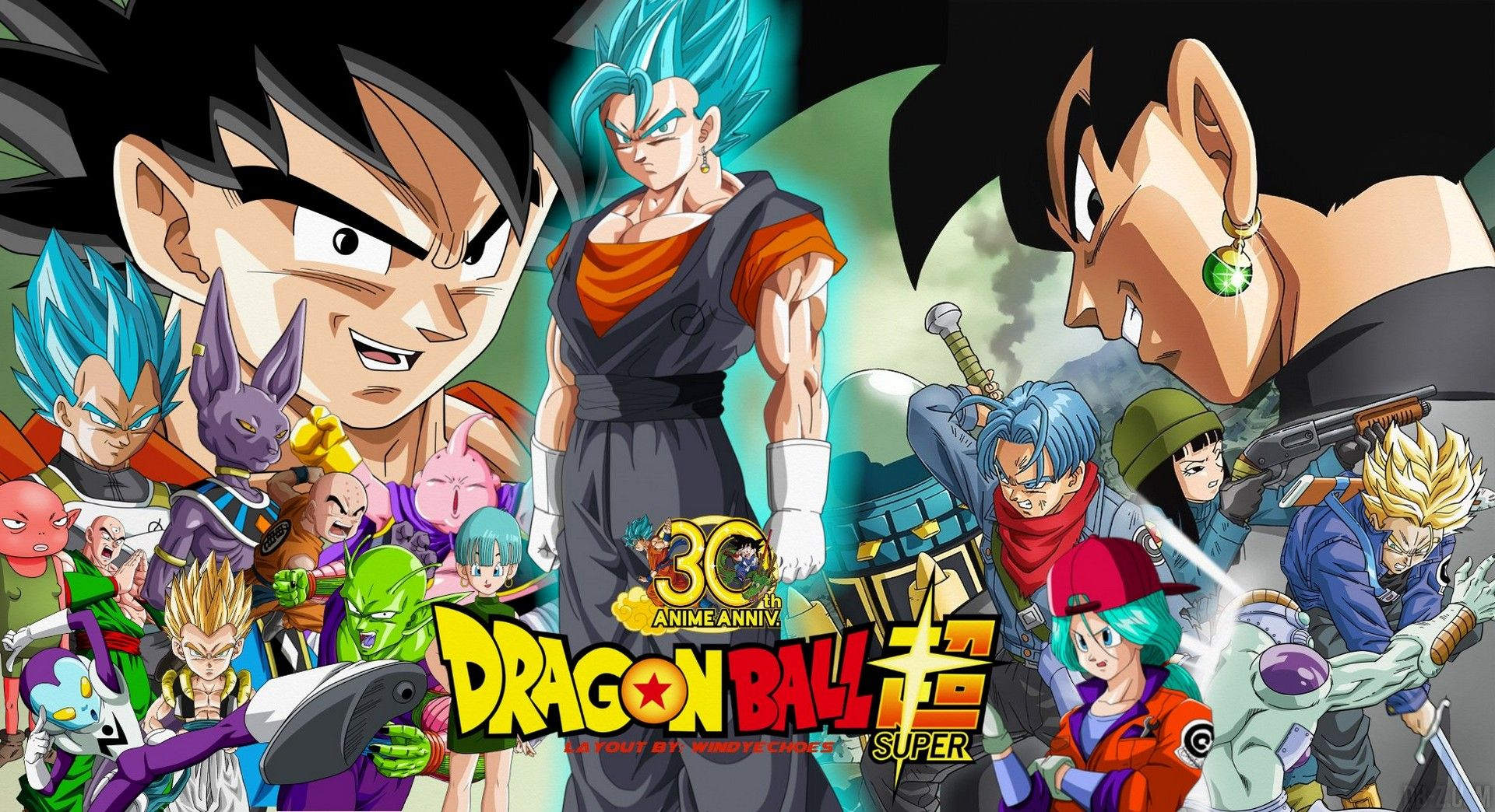 Dragon Ball Super Wall Paper Posted By Christopher Peltier