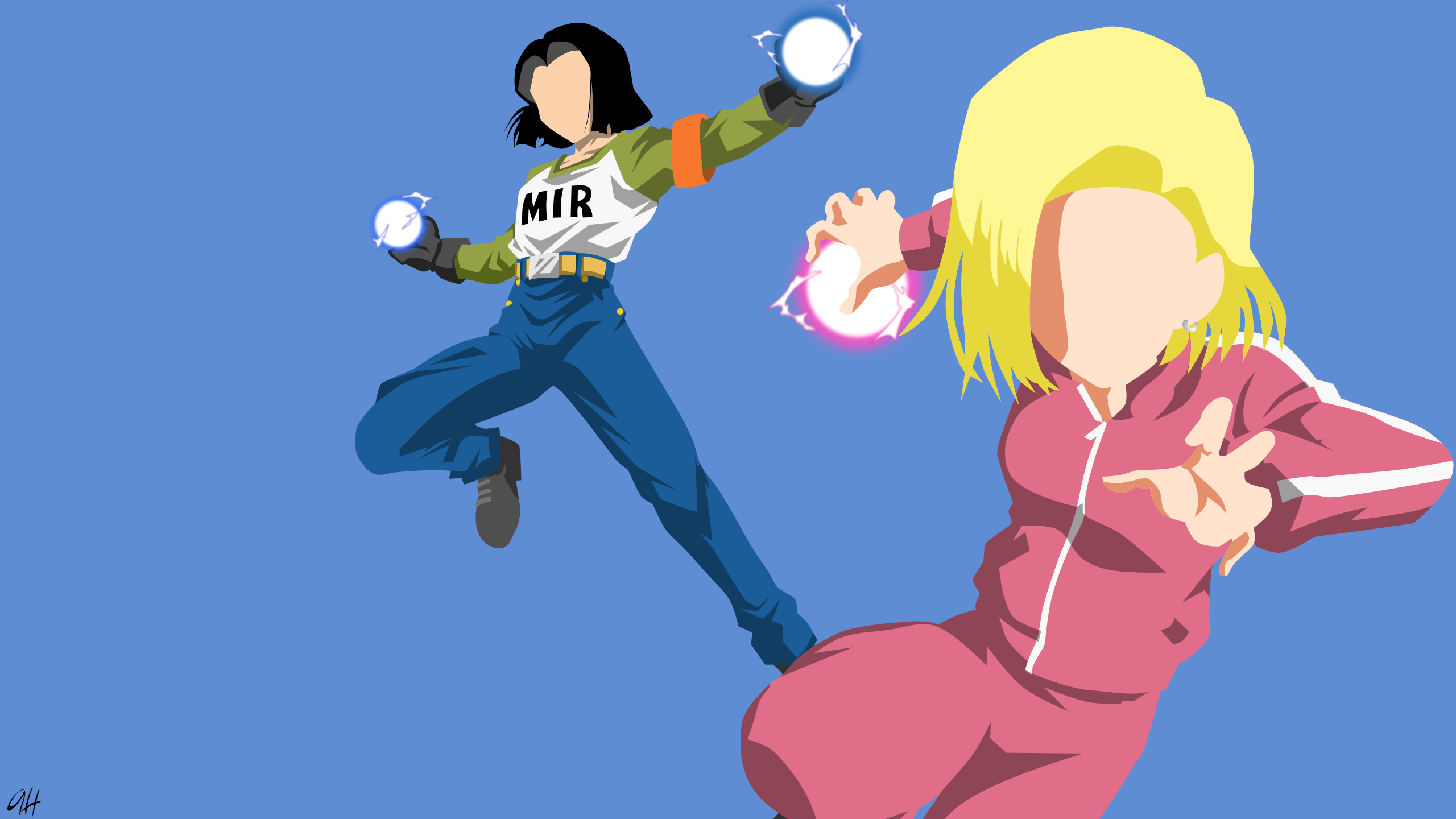 Dragon Ball Z Android 18 Wallpaper Posted By Michelle Johnson