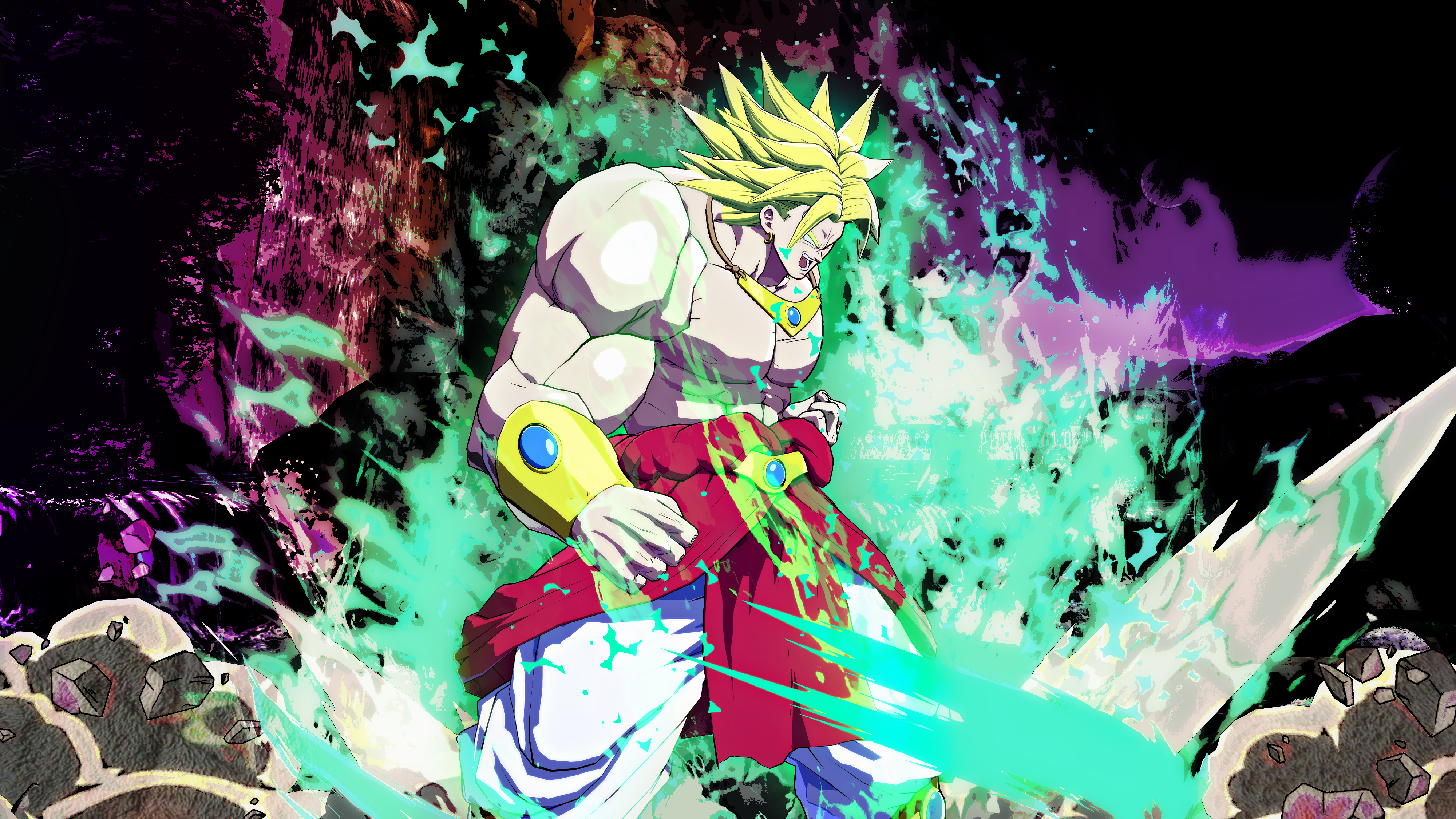 Dragon Ball Z Broly Wallpaper Posted By Christopher Anderson