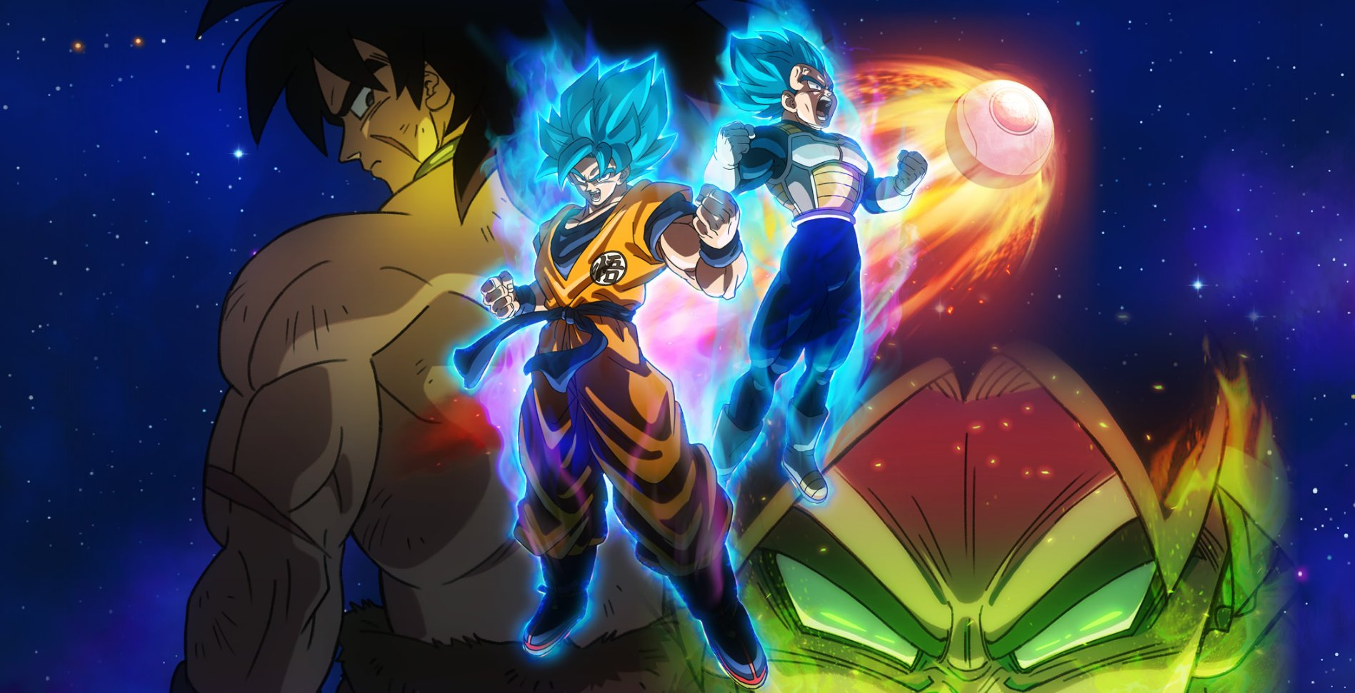 Dragon Ball Z Goku Vs Broly Wallpaper Posted By Christopher Peltier