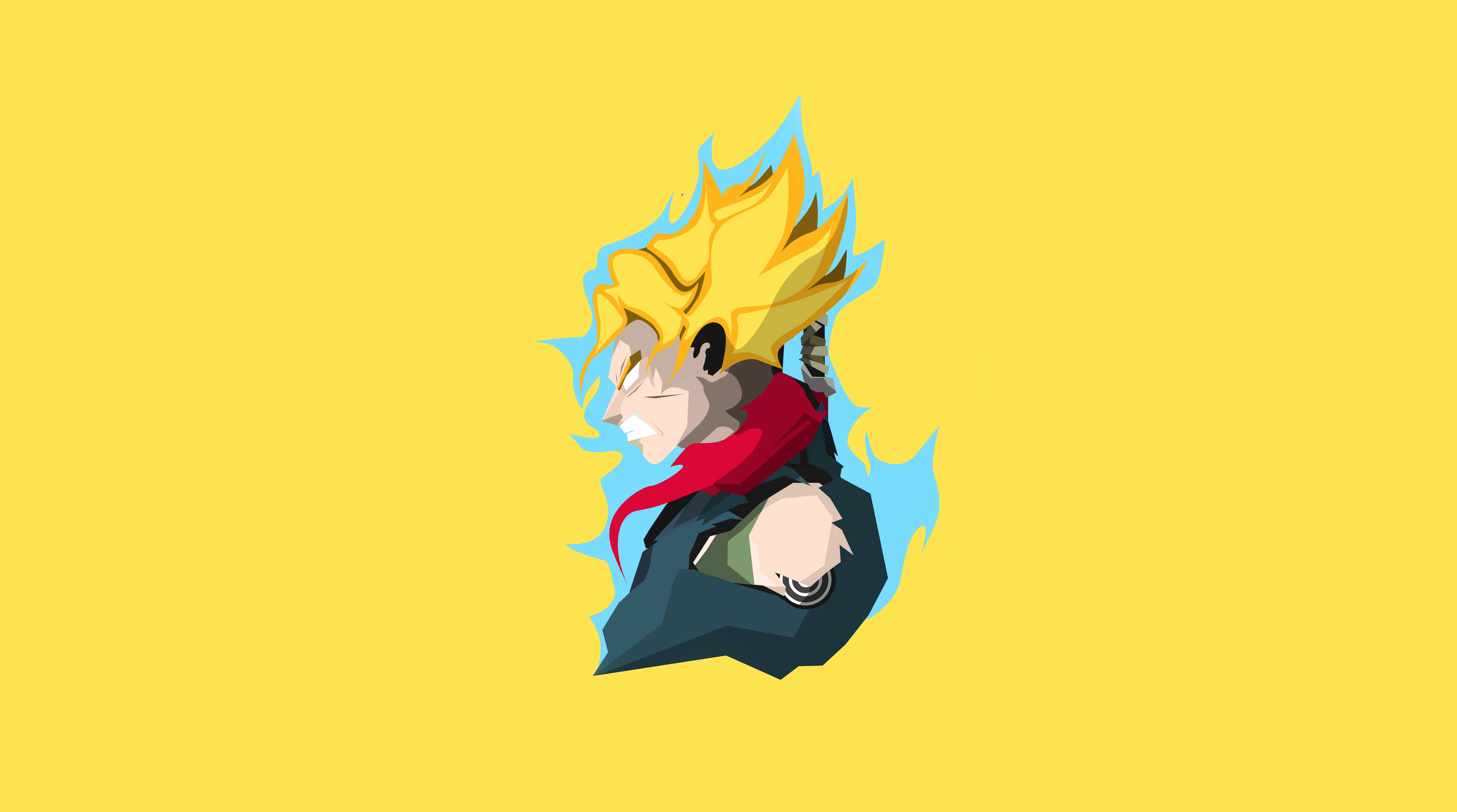 Dragon Ball Z Minimalist Wallpaper Posted By Sarah Simpson