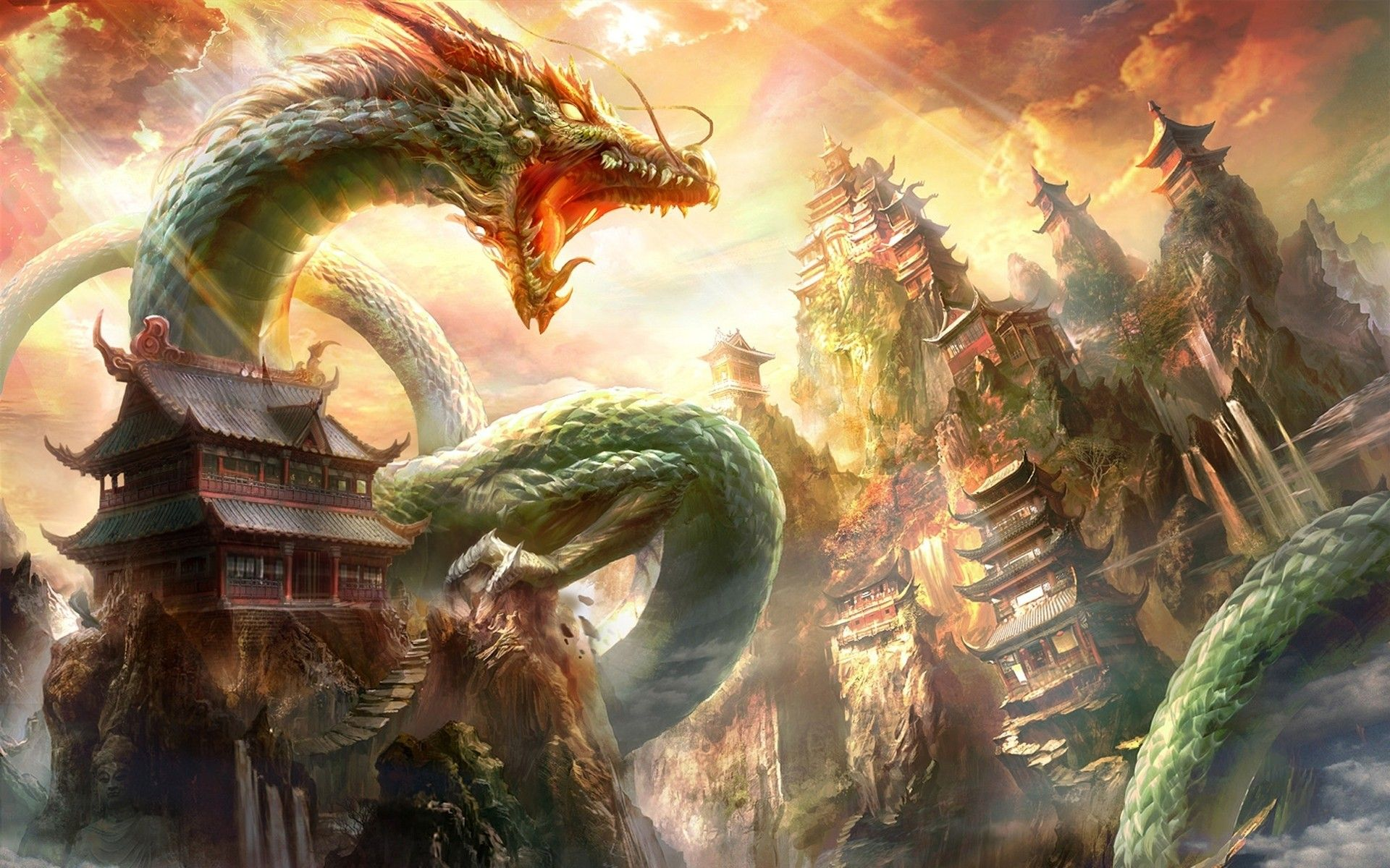 Dragon Ball Z Shenron Wallpaper Posted By Christopher Anderson