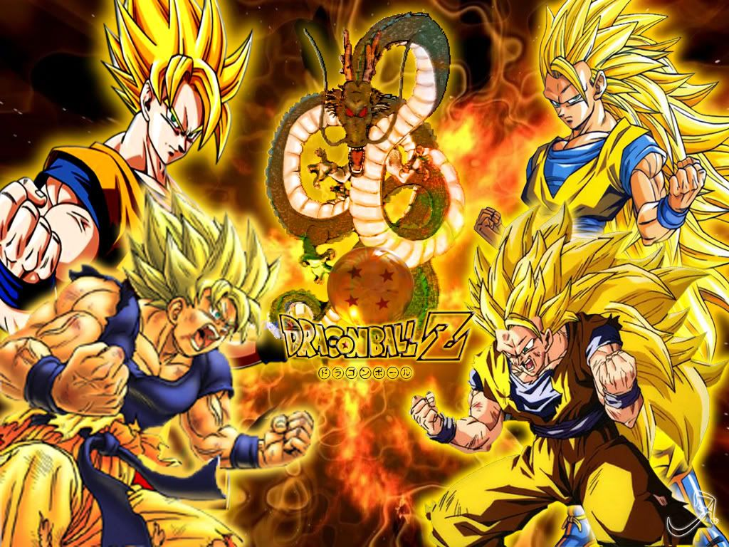 Dragon Ball Z Super Saiyans Wallpapers Posted By Michelle Mercado