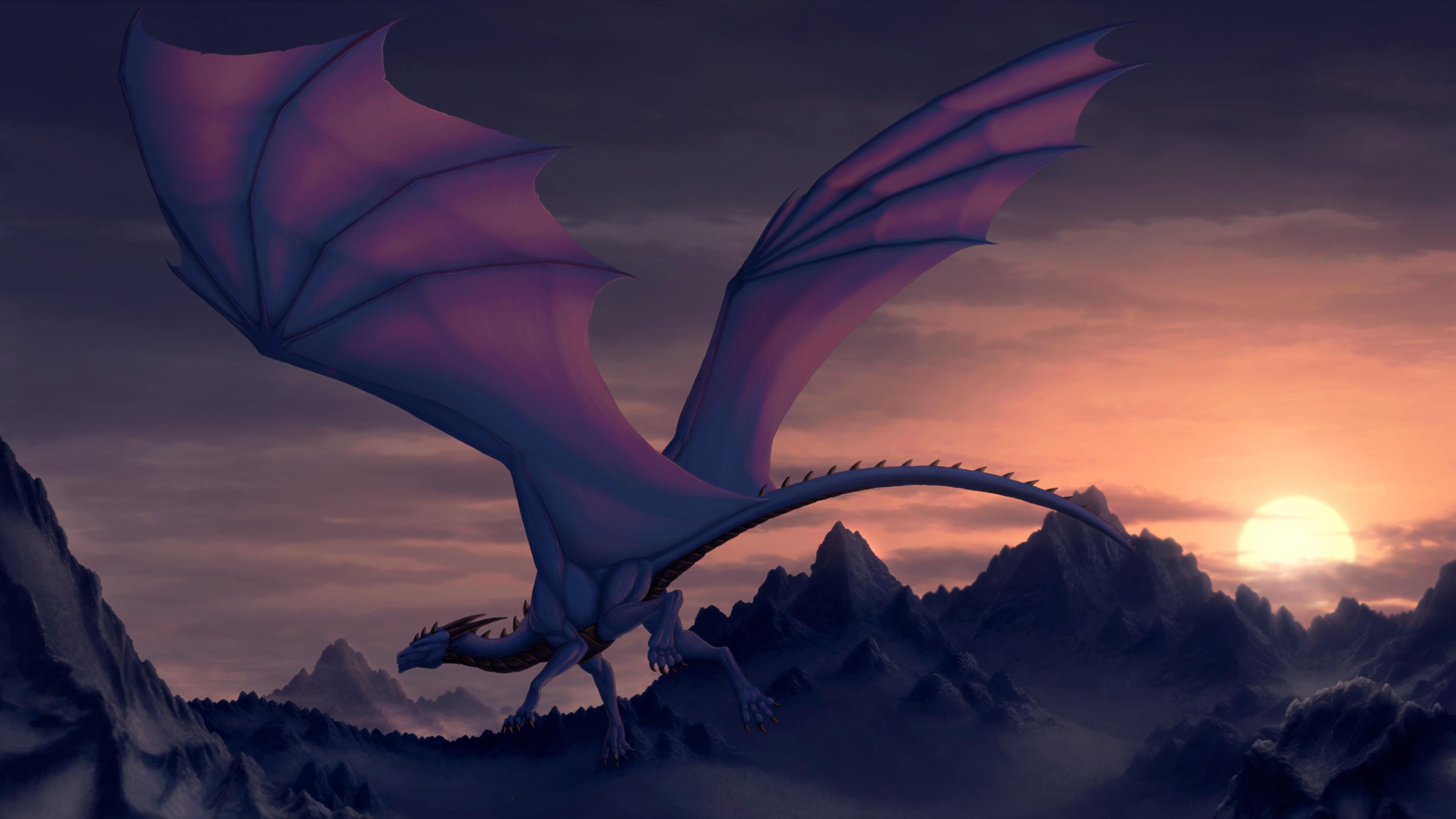 79 Purple Dragon Wallpapers on WallpaperPlay