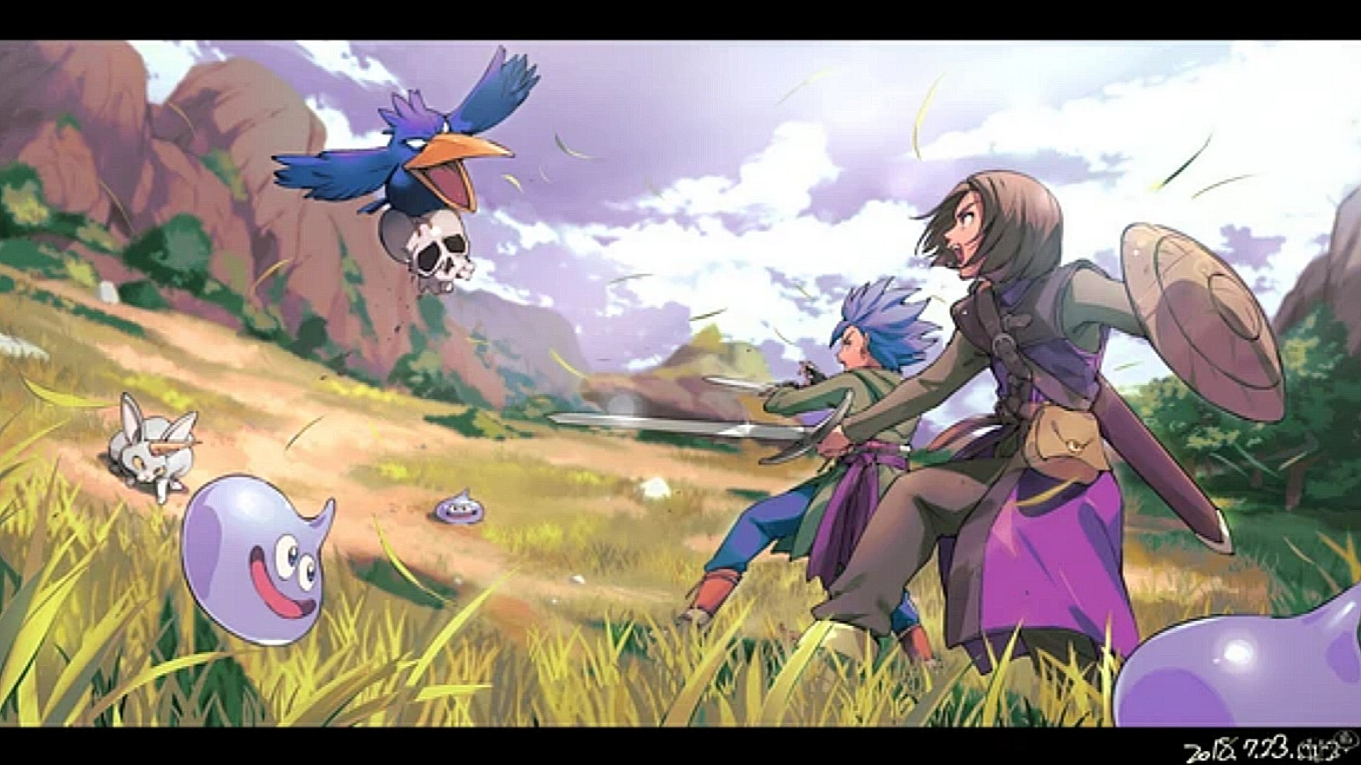 Dragon Quest Wallpapers Posted By Ethan Cunningham