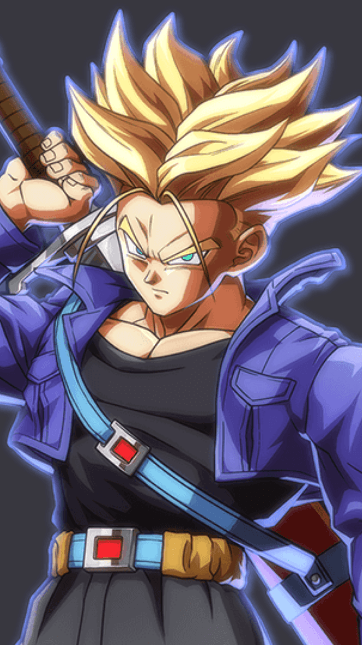 Dragonball Z Trunks Wallpaper Posted By Michelle Simpson