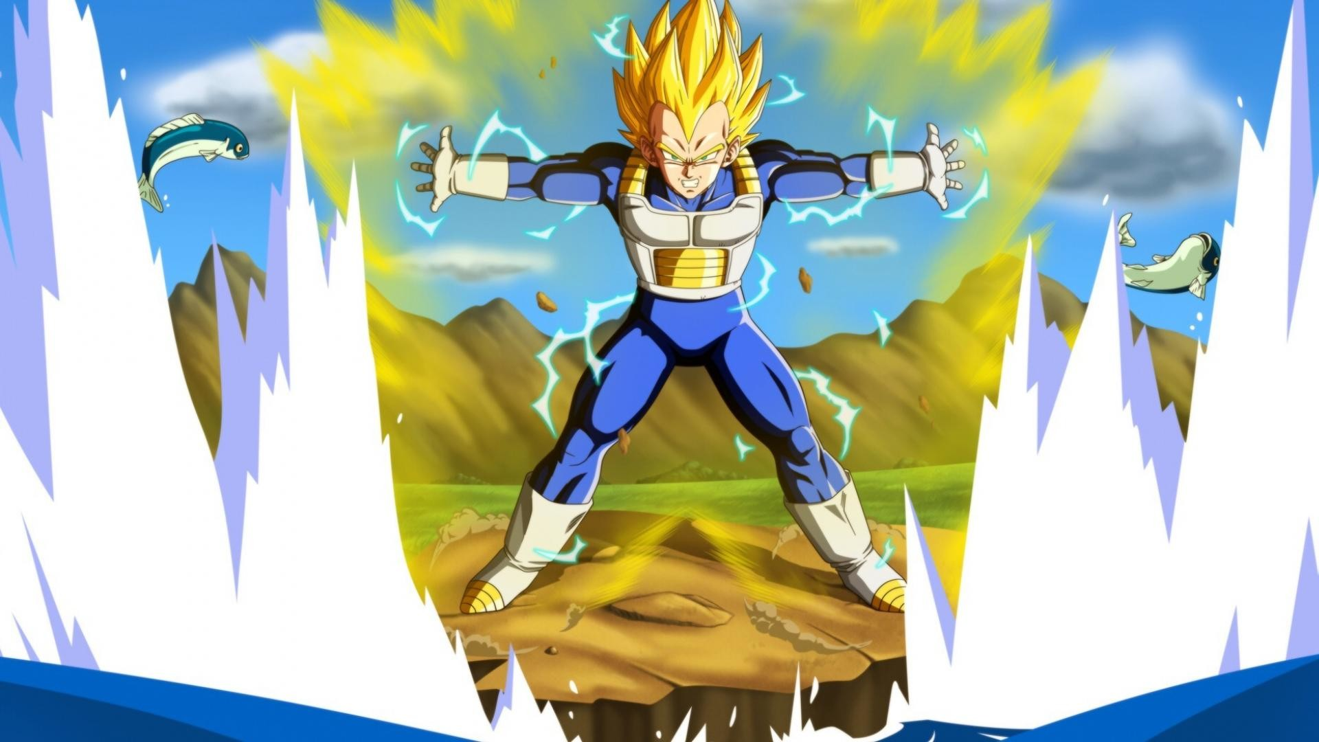 Dragonball Z Wallpaper Vegeta Posted By Ryan Thompson