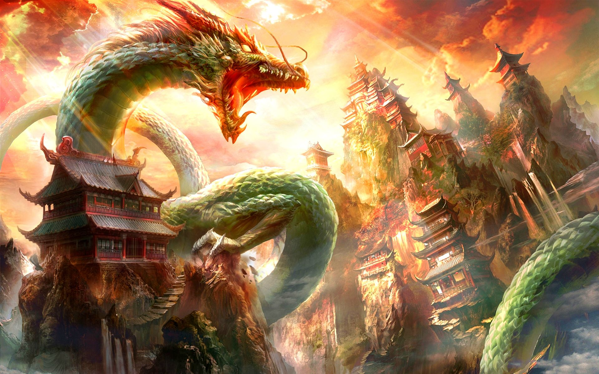 Dragons Wallpaper Posted By Ethan Thompson