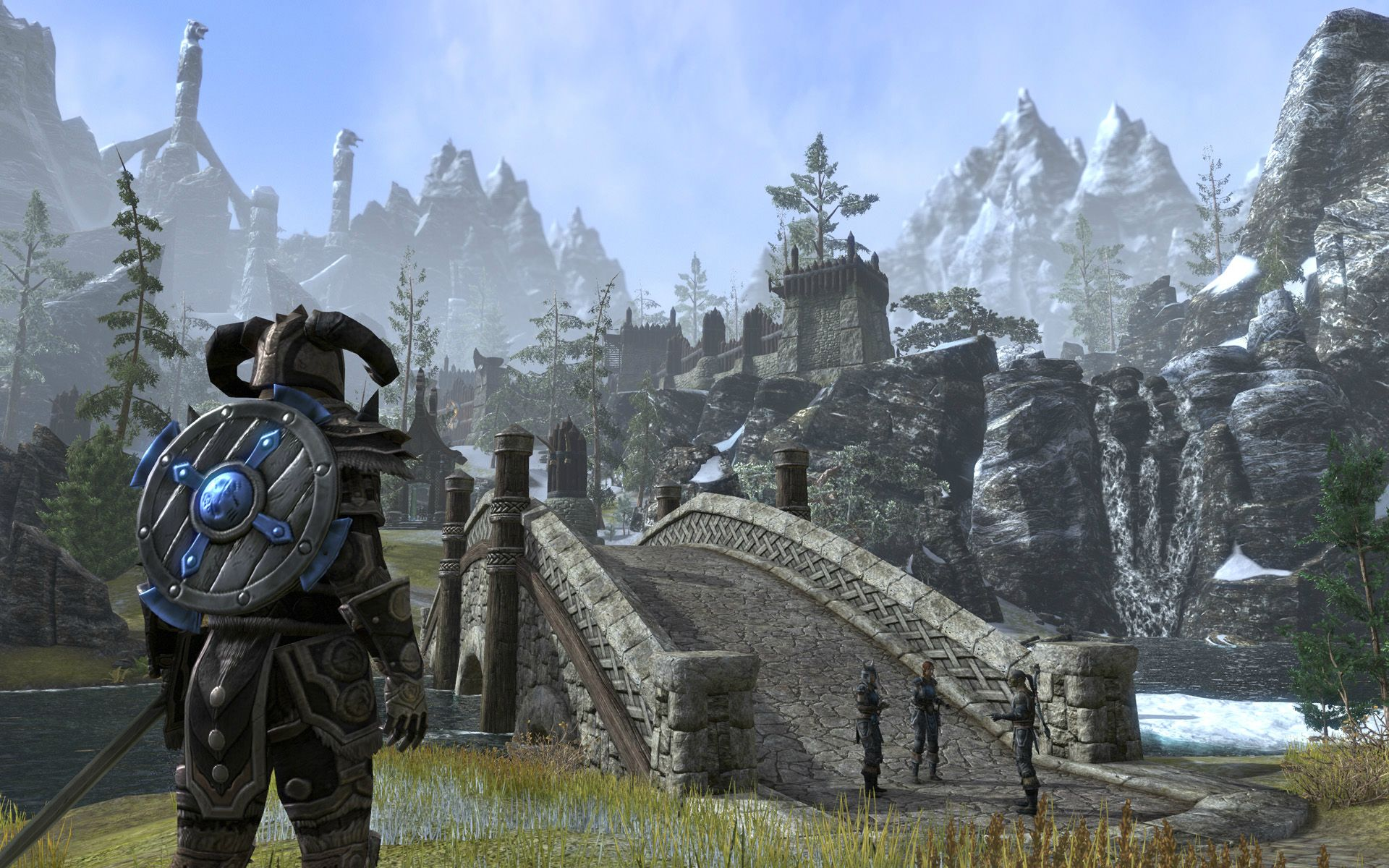 Elder Scrolls Online Hd Wallpaper Posted By Christopher Thompson