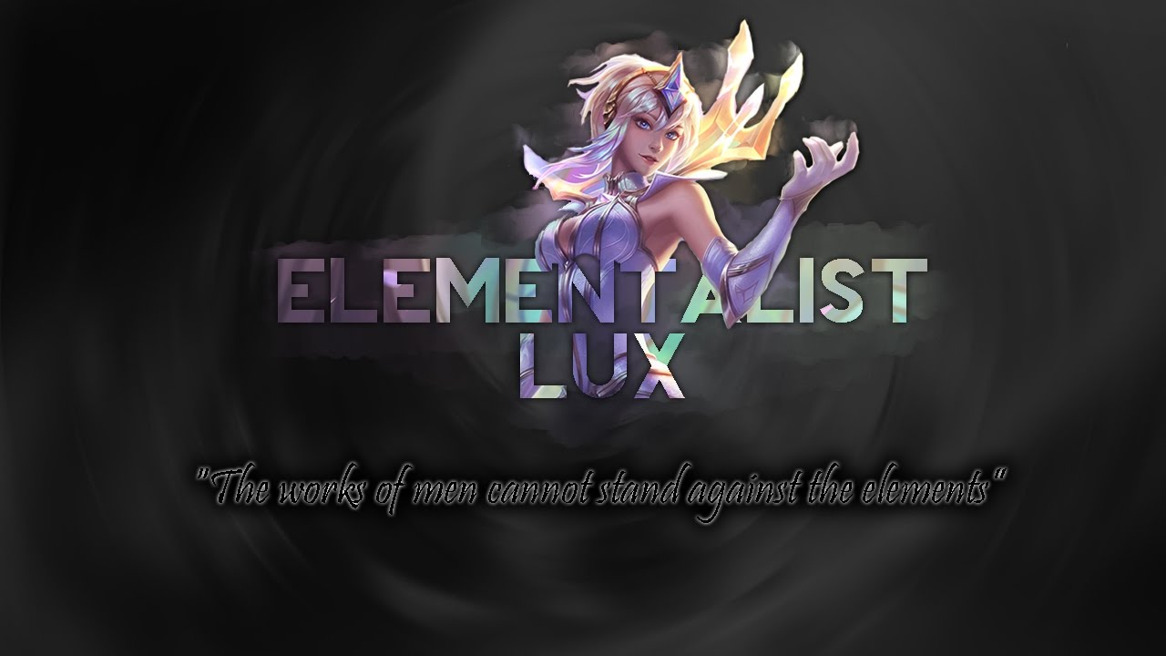 Elementalist Lux Wallpaper Posted By Michelle Peltier